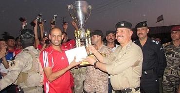 نادي الموفقية يخطف لقب بطولة كأس قائد شرطة واسط الاولى بكرة القدم