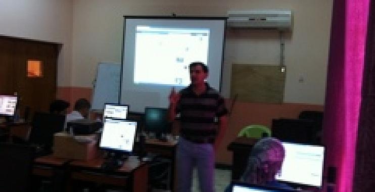 برلمان شباب واسط يقيم دورة حول الاستخدام النموذجي للمواقع الالكترونية
