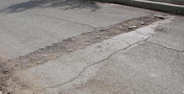 ظاهرة التخسفات والتكسرات والمطبات في الشوارع الرئيسية بمدينة الكوت جسر الكرامة انموذج