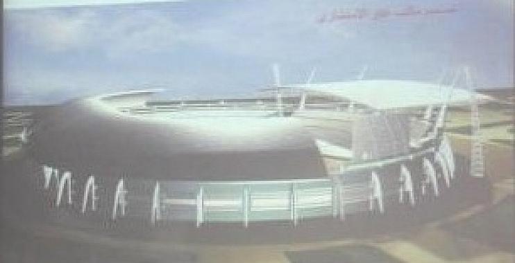 ملعب الكوت الاولمبي يدخل مرحلة جديدة من البناء