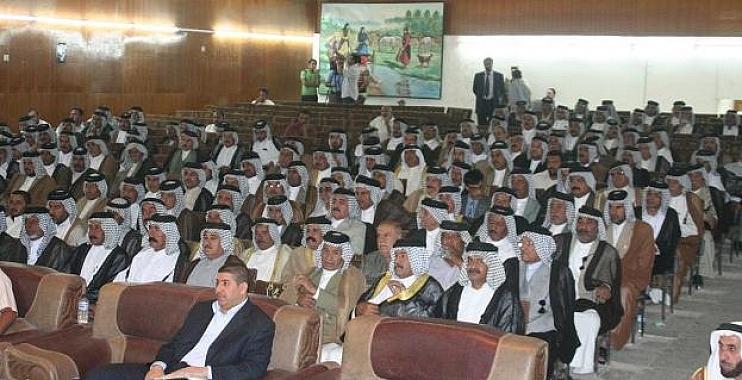 عشائر واسط ترفض سحب الثقة عن حكومة المالكي