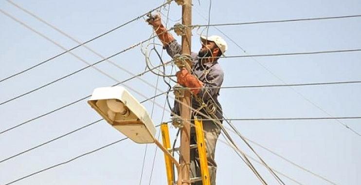 رفع 894 حالة تجاوز على شبكة خطوط الكهرباء في واسط