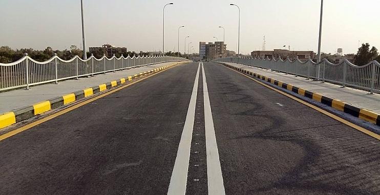 افتتاح جسر الكرامة في الكوت بعد إعادة تأهيله بأكثر من ستة مليارات دينار