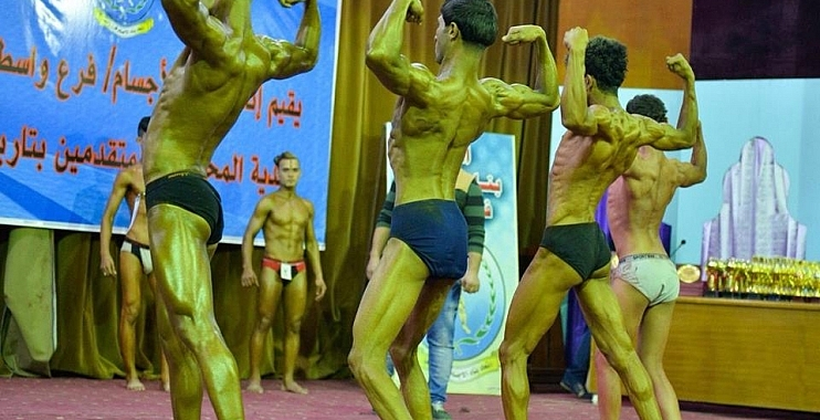 النعمانية يفوز بالمركز الاول ببطولة محافظة واسط للمتقدمين ببناء الاجسام