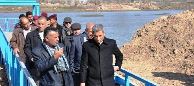 افتتاح مشروع ماء في ناحية الزبيدية في واسط