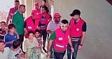 الهلال الاحمر فرع واسط يشارك في تقديم الخدمات الانسانية للنازحين في صلاح الدين