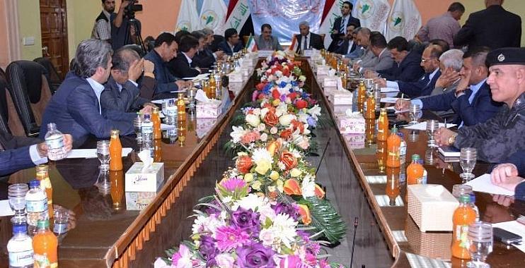 واسط وايلام توقعان اتفاقيات تعاون شاملة وتتفقان على فتح مكتب تنسيقي استشاري هندسي ودخول العراقيين بعجلاتهم الى ايلام من دون تأشيرة