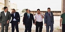 العوادي يفتتح مركز استلام الشعير في الكوت ويعلن بدأ حملة الحصاد والتسويق لمحصول الشعير لهذا العام