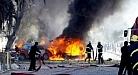 انفجار سيارة ملغمة في قضاء العزيزية شمال الكوت يخلف اضرار مادية فقط