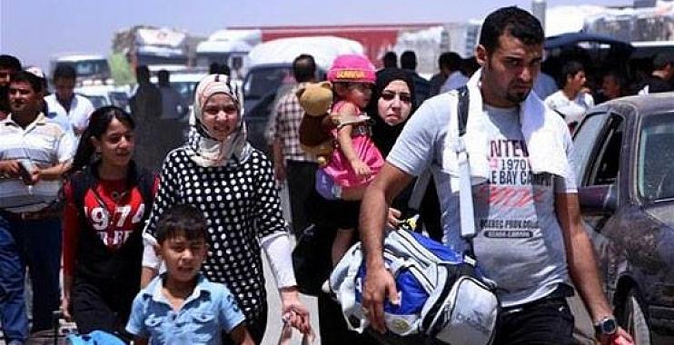 واسط تستقبل أكثر من 2500عائلة من تلعفر وبرطلة والحمدانية