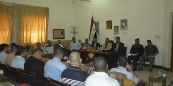 رئيس مجلس محافظة واسط : يؤكد اعداد خطة واسعة لايصال الخدمات في قضاء النعمانية