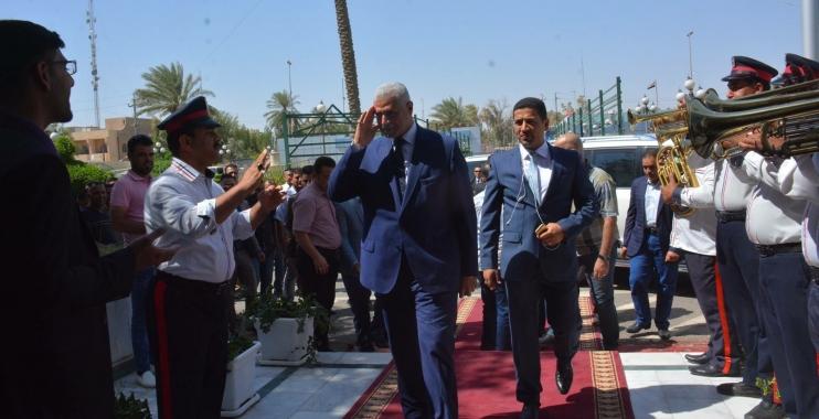 استقبال رسمي وشعبي كبير بعودة محمود ملا طلال لمنصبه محافظاً لواسط