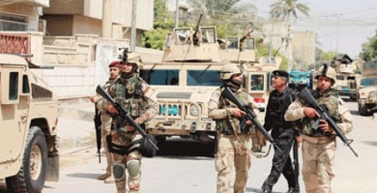 استشهاد 10 جنود من واسط باشتباكات عنيفة مع داعش في قاطع صلاح الدين