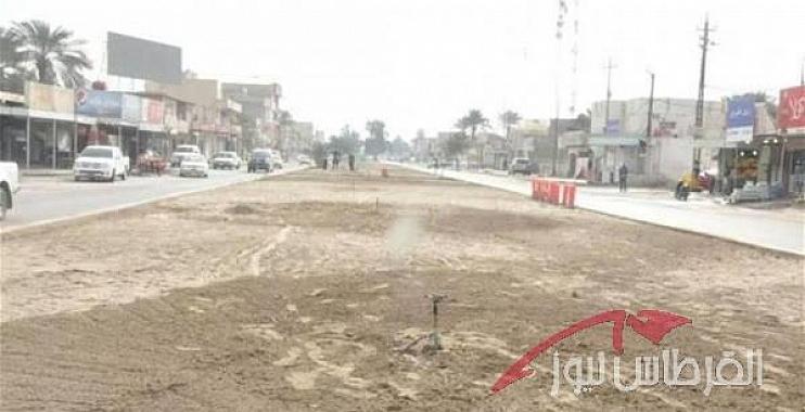 واسط تبدء بتطوير وتأهيل شارع الامام علي