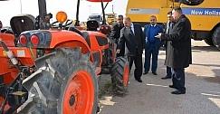 واسط تستلم 140 حاصدة  اذرة اسبانية الصنع ضمن مشروع المبادرة الزراعية