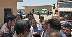 خدمات واسط تتابع عملية تسويق الحنطة في مركز الصومعة