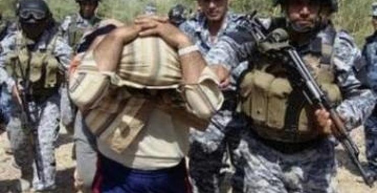 اعتقال مطلوبين وفق المادة الرابعة من قانون مكافحة الارهاب شمالي واسط