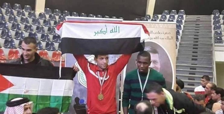 واسط تحتفي بالملاكم غزوان وتقول:انجاز جديد حققه العراق في بطولة الفن النبيل