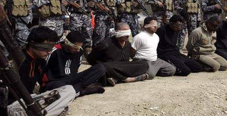 القاء القبض على 8 متهمين بالارهاب وعصابتين للسرقة والاحتيال في واسط