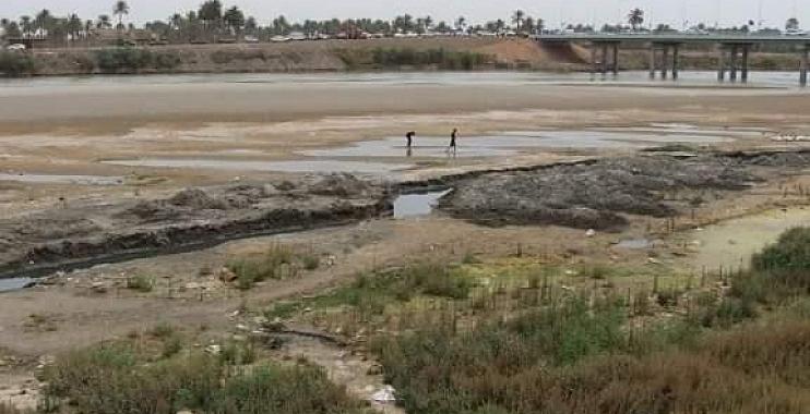 انخفاض مناسيب مياه دجلة يهدد مهنة صيد الاسماك في واسط بالزوال