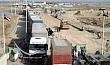 سائقو الشاحنات في واسط يطالبون بتطوير منفذ زرباطية الحدودي